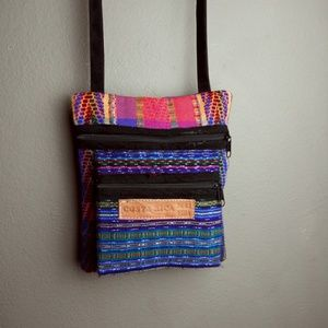 Pura Vida Indiginous Wool Purse from Costa Rica